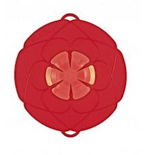 Kochblume medium silikonlock, röd
