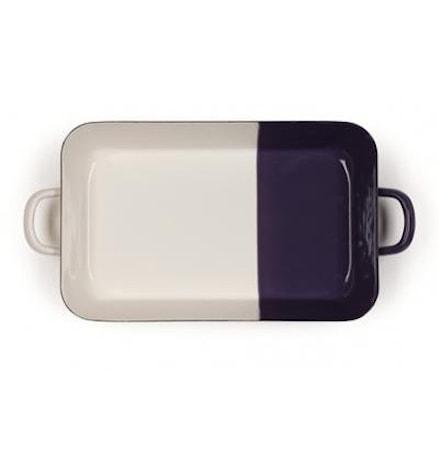 Bakform Cream/Plum 33x20 cm