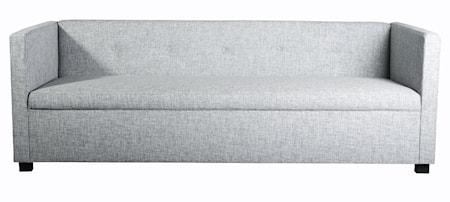 Botton soffa - ljusgrå