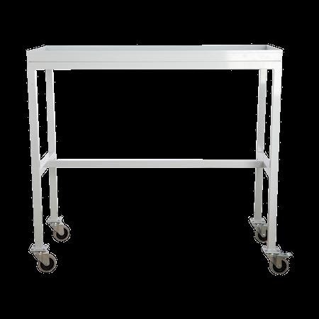 Rullbord Grå 100x45x90 cm