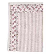 Kjøkkenhåndkle Floral Stripe 2stk