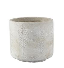 Kruka Cement Grå 10,8x10 cm