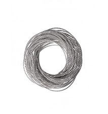 Servettring Kerala silver Ø ca 60mm