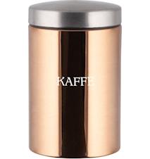 Kaffeburk kopparfinish volym 1,5 l höjd 17,5 cm