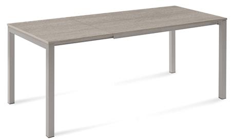 Bild av Domitalia Web 120 matbord – Beige stål/Ljusgrå