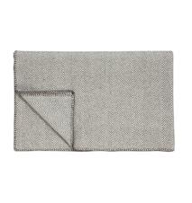 Pläd 130x200 cm - Grå/Offwhite