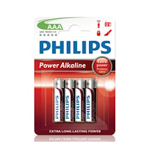 Fashion Power Alkaline AAA 4-pack