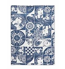 Kökshandduk, blå, 50x70 cm