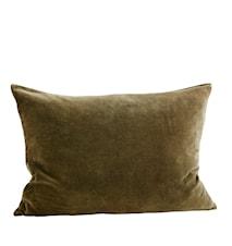 Pudebetræk 70x50 cm - Oliven