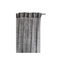 Gardin Dalsland med veckband 145x290cm svart