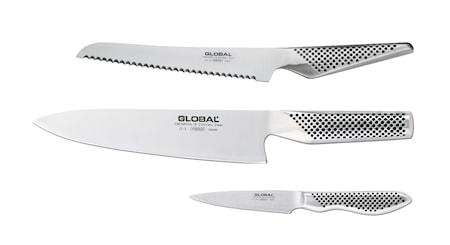Knivset 3 delar G-2, GS-38, GS-61