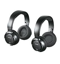 WHP3203D Trådlös Svart Over-Ear 2-pack