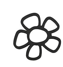 Grytunderlägg Silikon Svart 16,5x16,5 cm