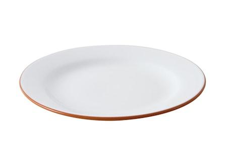 Tallrik Glaserad Terracotta ø28 cm