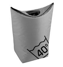 Tvättkorg Grå 79x27 cm