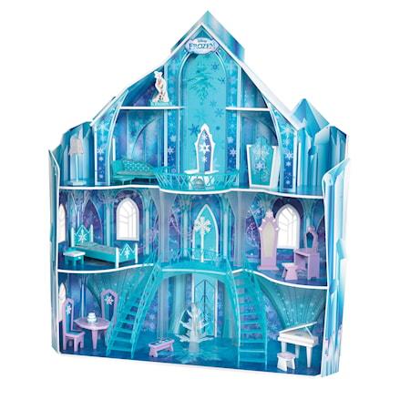 Disney Frozen Snowflake Mansion dockhus