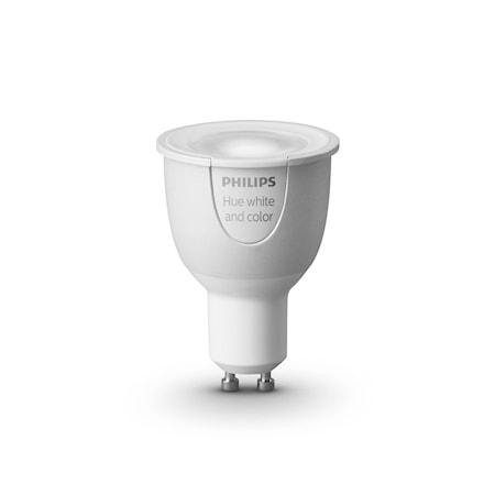 kj p philips hue white and color gu10 lampe kj kkenprodukter hos kitchentime. Black Bedroom Furniture Sets. Home Design Ideas
