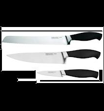 Solid Japanskt Knivset 3 delar