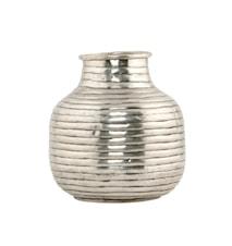 Vas Vertical Ø 14x16 cm - Silver