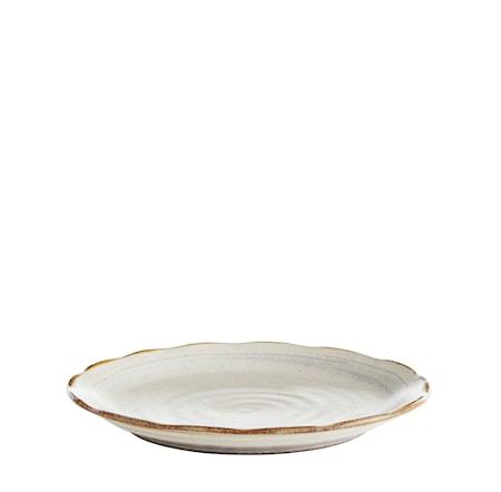 Köp Tallrik Ø 28 cm - Vit brun online  3278e09dd0359