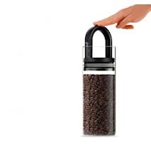 Förvaringsburk med svart handtag 1360ml