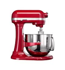 Artisan kjøkkenmaskin rød, 6,9 L