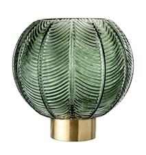 Vas Green Glass Ø20x21 cm