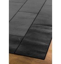 Leather Black Gulvtæppe - 180x240