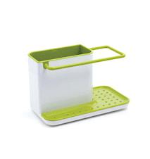 Caddy diskbänksförvaring vit/grön - 21 cm
