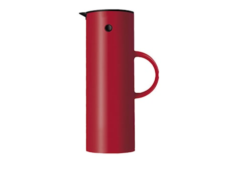 Stelton EM77 termoskanna 1 liter Röd