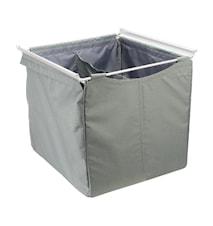 Tekstilkurv høy 500 426x500 grå