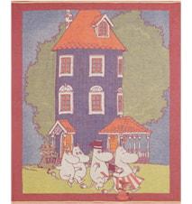 MOOMIN HOUSE Pläd 120X165 CM