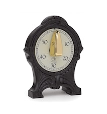 Antique timer, zink Svart