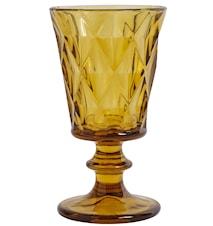 Diamond Rödvinsglas Bärnsten