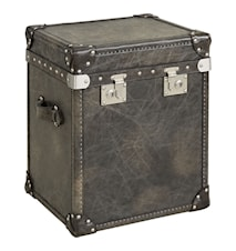 London trunk - Green leather