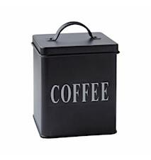 Förvaringsburk Coffee Metall 14x11,5 cm