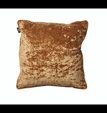 Kuddfodral 50x50 Velvet/Linen Antique Gold