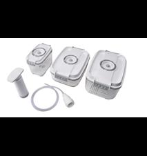 Vakuumbehållare med Pump, 3-pack