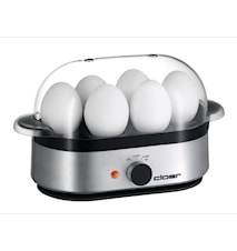 Eggkoker for 6 egg- Aluminium