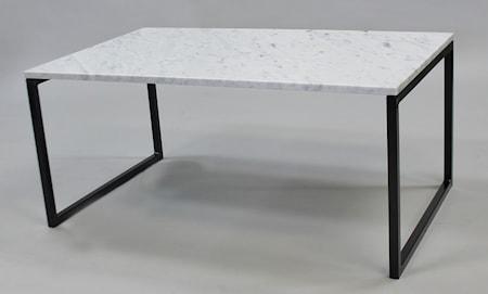 Bild av Runa Design Rektangulär marmor soffbord svävande