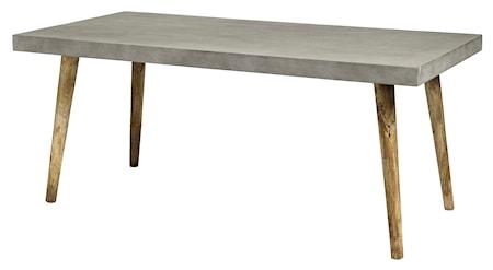 Nordal betong matbord - Rektangulärt