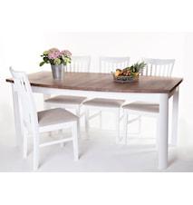 Toledo matbord + 6 st stolar