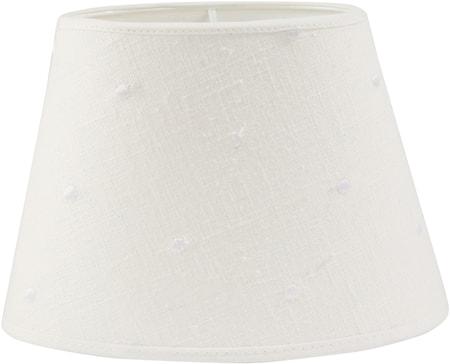 PR Home Oval Lampskärm Lin Prick 30 cm