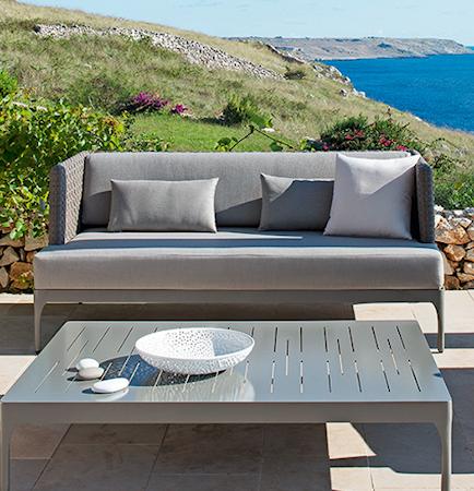Infinity grå soffa
