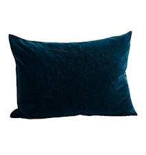 Tyynynpäällinen 70x50 cm - Petroleum/Sininen