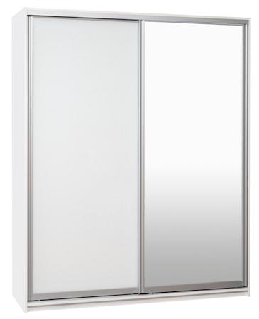 Bild av Hiipakka Ida garderob – 180, spegel/vit