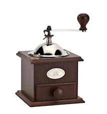 Nostalgie Kaffekvarn walnut 13 x 13 cm