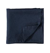 Linneduk 145x250 cm - Mörkblå
