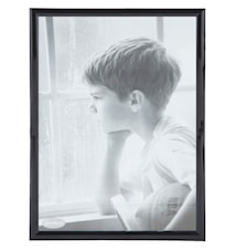 Tavelram Svart/Glas 40x30 cm