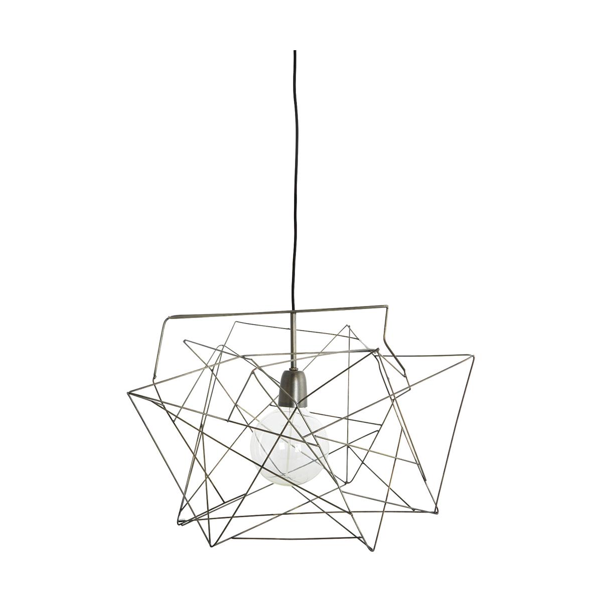 Asymmetric Lampskärm Metall 45x45 cm